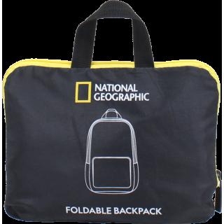 Рюкзак городской National Geographic Foldable N14403;06 Черный