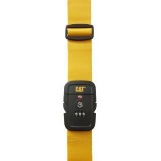 Багажный ремень с замком TSA CAT Travel Accessories желтый 83719;42