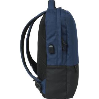Рюкзак мужской CAT Mochilas черно-синий 83730;370