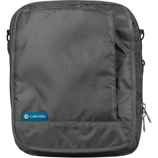 Мужская сумка через плечо CARLTON Travel Accessories EXBAGGRY;02 Серая