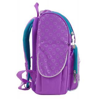 Рюкзак школьный каркасный 1 Вересня H-11 Sofia purple 553269