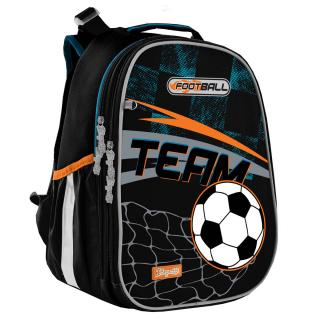 Рюкзак школьный каркасный 1Вересня Н-25 Team football 558215