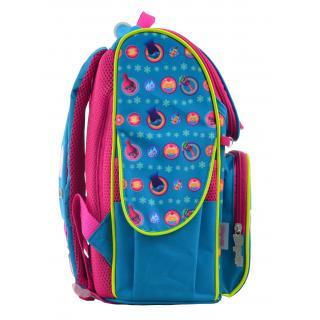 Рюкзак школьный каркасный 1 Вересня H-11 Trolls turquoise 555162
