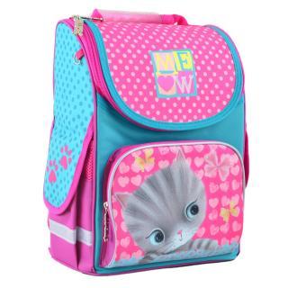 Рюкзак школьный каркасный 1 Вересня H-11 Cat 555294