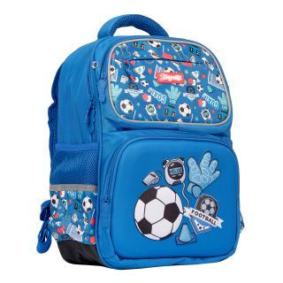 Рюкзак школьный 1Вересня S-105 Football синий 558307