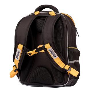 Рюкзак школьный 1Вересня S-105 Maxdrift черный/желтый 558744