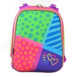 Рюкзак школьный каркасный 1 Вересня H-12 Bright colors 554581