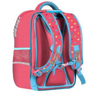 Рюкзак школьный 1Вересня S-105 Pretty коралловый 558323