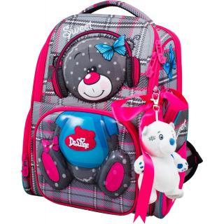Школьный комплект DeLune - ранец, мешок, игрушка 11-026