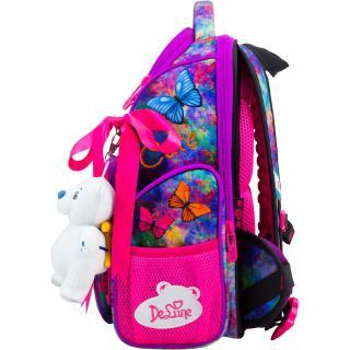 Школьный комплект DeLune - ранец, мешок, игрушка 11-028