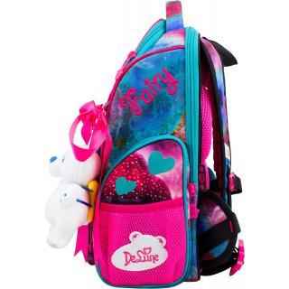 Школьный комплект DeLune - ранец, мешок, игрушка 11-029