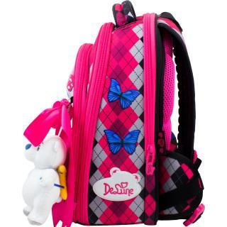 Школьный комплект DeLune - ранец, мешок, пенал, игрушка 9-124