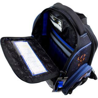 Школьный комплект DeLune - ранец, мешок, часы 11-030