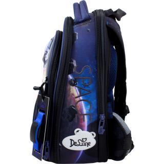 Школьный комплект DeLune - ранец, мешок, пенал, часы 9-126