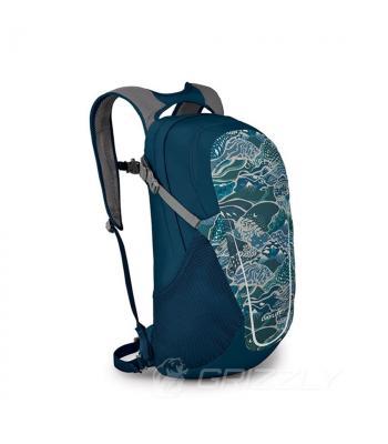 Рюкзак городской Osprey Daylite 13 Tectonic Print Blue O/S синий 009.2216