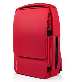Расширяемый городской рюкзак Pleatpack 7-25L Bright-Red