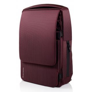Расширяемый городской рюкзак Pleatpack 7-25L Burgundy