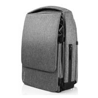 Расширяемый мужской городской рюкзак Pleatpack 7-25L Metal-Grey